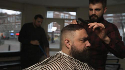 Ahmet Polat, At The Barber 2017