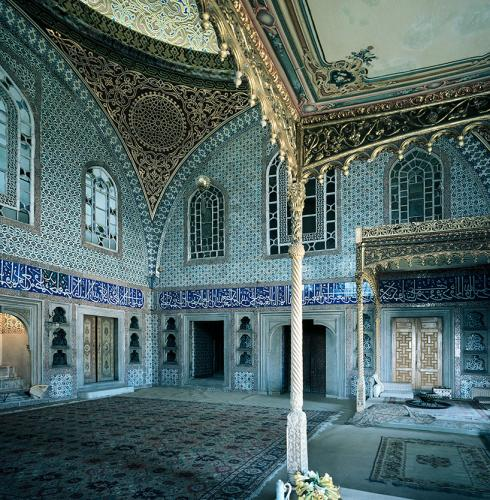 The Throne Room or  The Actual Privy Chamber, Istanbul, Topkapı Palace, 1954