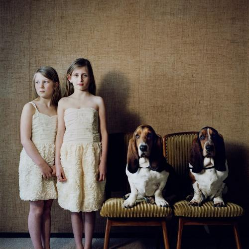 Hellen van Meene, Dogs and Girls, 2012