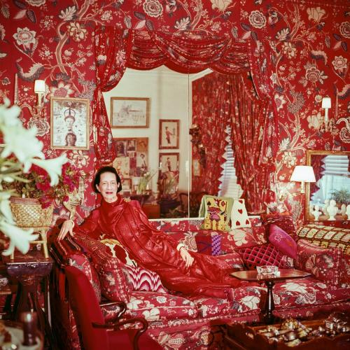Diana Vreeland, New York, 1979