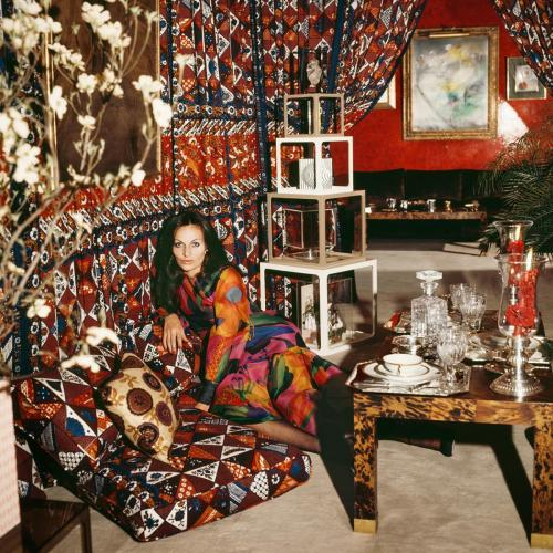 Diane von Furstenberg, Around That Time, 1972