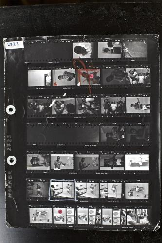 "Thomas Hoepker,  ""Contact Sheet"" / ""Kontakt Baskı""1966"