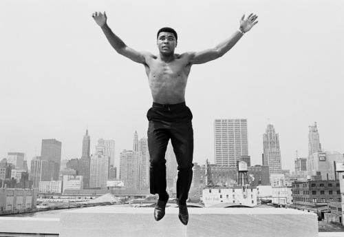 "Thomas Hoepker,  Muhammad Ali ""USA, Chicago, 1966"""