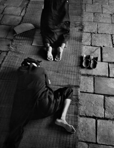 "Werner Bischof ""Indochina, 1952"" Women praying for their men at war."