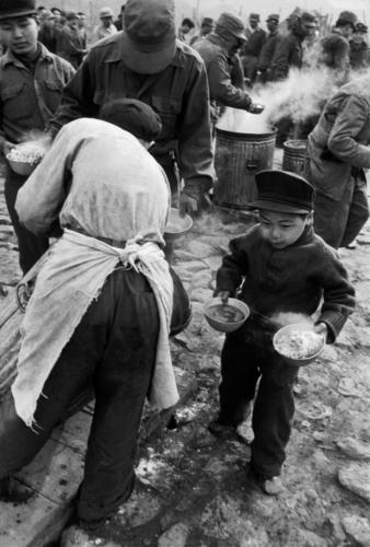 "Werner Bischof""Güney Kore, Koje Island of Koje Do, 1952""A camp for North Korean prisoners of war. The youngest member."